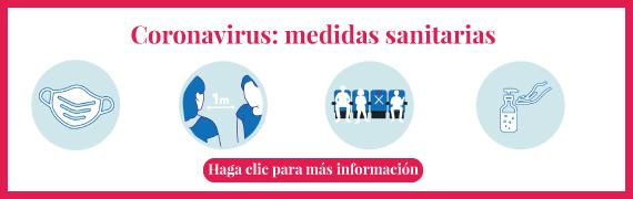 Coronavirus: medidas sanitarias
