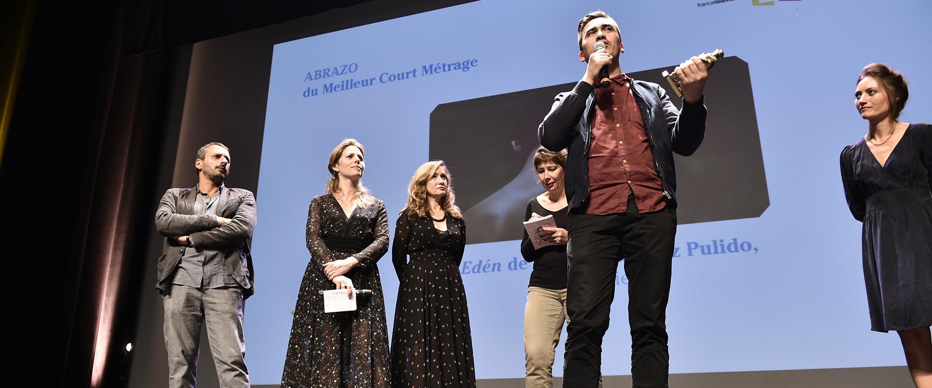 ANDREZ RAMIREZ PULIDO, Abrazo del mejor cortometraje 2016, seleccionado al Festival de Cannes 2017!