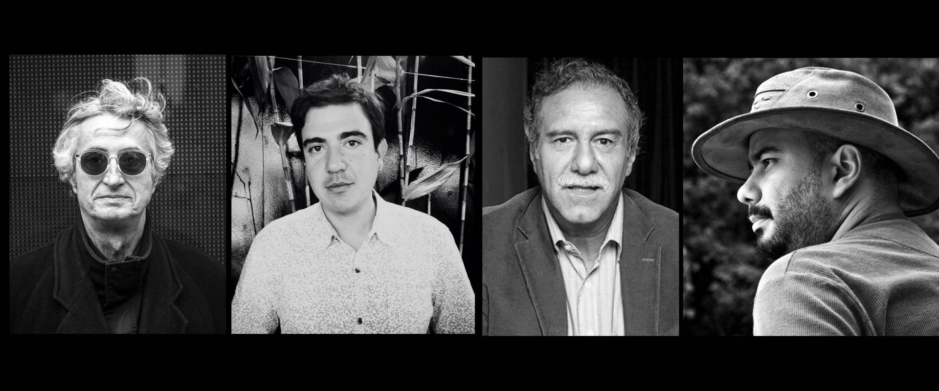 Luis Ospina, Oscar Ruíz Navia, Víctor Gaviria,  et Ciro Guerra présents à Biarritz !