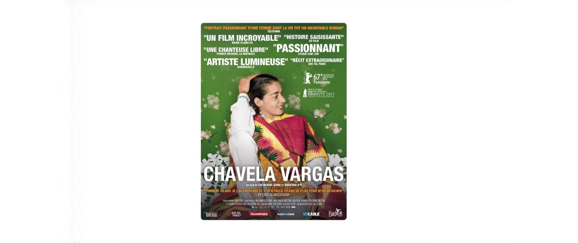 CHAVELA VARGAS- AU CINEMA LE 15 NOVEMBRE