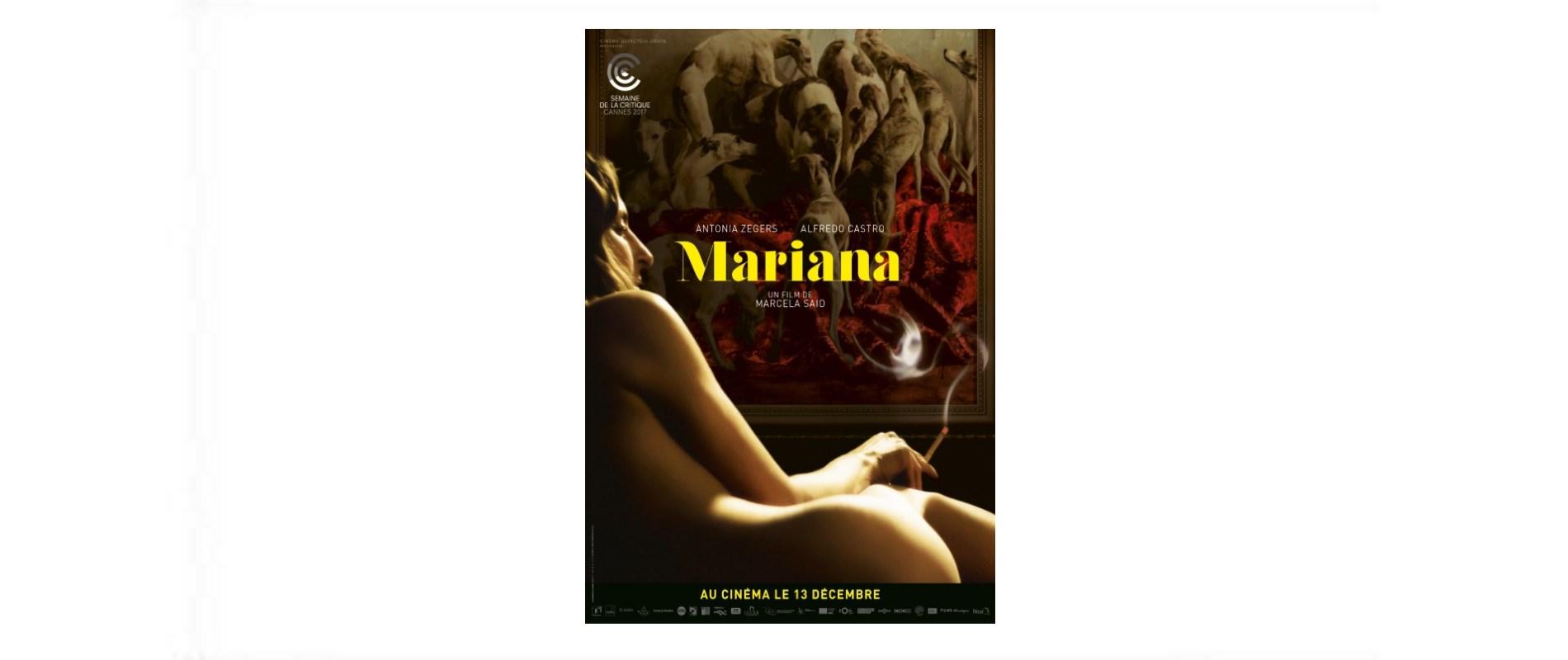 MARIANA-AU CINEMA LE 13 DECEMBRE
